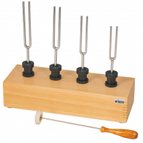 Tuning Forks + Box, with Resonance Box