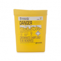0.3L Slimline Sharps Container