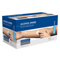 Alcohol Swabs, 70% Isopropyl Alcohol, 30 x 30mm