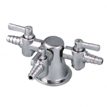 Laboratory Gas Turret, Triple Outlet