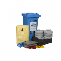 General Purpose Wheeled Bin Spill Kit 120L