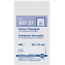 Test Strips Qualitative, Potassium, 20 x 70mm 200pk