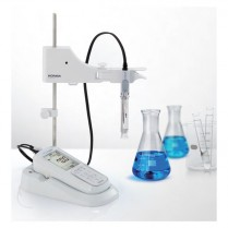 LAQUA Electrode Stand with Holder LAQUAact Meters