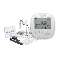 Laqua Benchtop PC1100 pH/ORP/COND/TDS/Res/Sal/Temp LCD Meter Kit