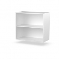 Double Wall Shelves Polar White 720 x 660 x 360 NO DOORS