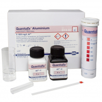 Quantofix Test Strips, 6 x 95mm, Aluminium 0-5-20-50-200-500mg/L