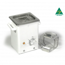 Ultrasonic Cleaner, Mechanical Timer, No Heat, 1.7L Capacity