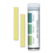 QAC Sanitiser Test Strips (100-200-400ppm)