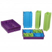 Gratnells SortEd Insert Pack, Bright Antimicrobial