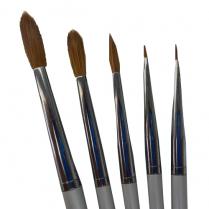 Kolinsky Ceramic 5 Brush Kit