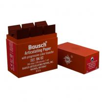 Bausch Articulating Paper BK02 Red 200 microns (300 Strips)