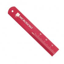 Microdont Endo Ruler Aluminum:  Red