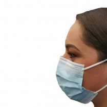 Surgical Face Mask Earloop Blue 3Ply 2R Carton 50 x 50pk