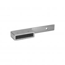 50 x 10mm Offset Handrail Extension Wall Bracket - 75mm