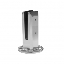 Square Base Plated Pool Fencing Spigot