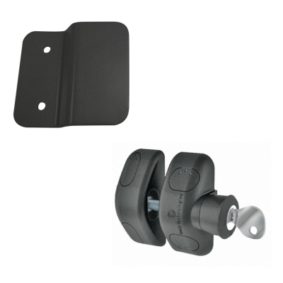 D&D Side Pull Latch with Stop