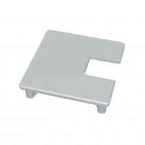 75 Series Square Glazing Post Cap - 1-Way