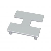 75 Series Square Glazing Post Cap - 2-Way