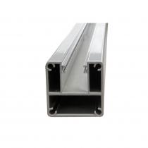 Base Plated Balustrade Glazing Post - 1-Way