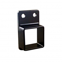 40 x 40 Fence Bracket + Screws - 4 Pack - Black