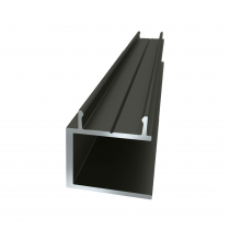 25 x 25mm Conceal Fix U-Channel - 5800mm - Stock Colour