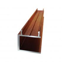 25 x 25mm Conceal Fix U-Channel - 5800mm - Red Cedar