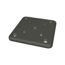 100 x 100mm Base Plate - Stock Colour