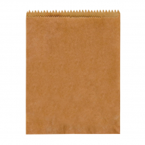 1F Flat Paper Bag Brown