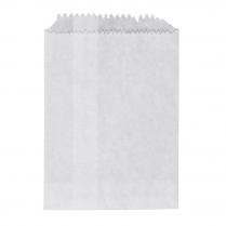 1/4F Flat Paper Bag 4oz White