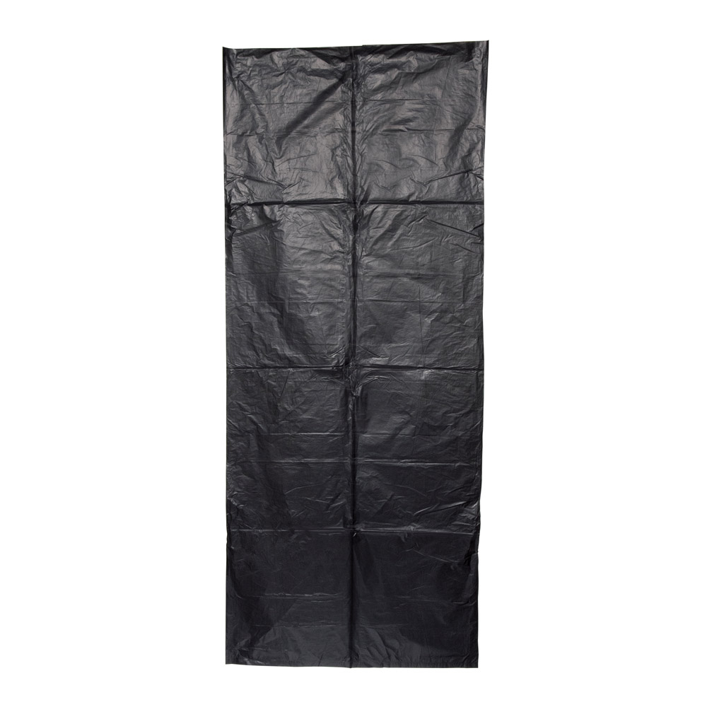 240L Heavy Duty Garbage 'Wheelie' Bin Liner Black