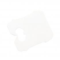 Bag Closures GP1 DV Series White