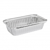 550mL Takeaway Foil Shallow Tray Rectangular