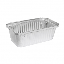 750mL Takeaway Foil Deep Tray Rectangular