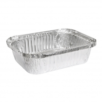 850mL Takeaway Foil Tray Rectangular