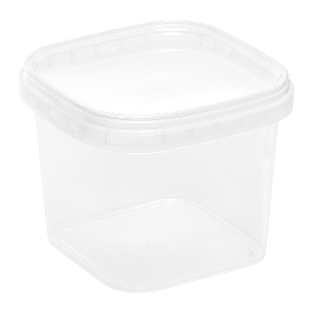 365mL Square Tamper Evident Tub
