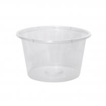 120mL Round Takeaway Plastic Container C4