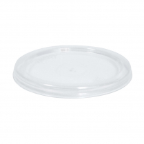 Takeaway Plastic Round Lid for C2-4 Containers