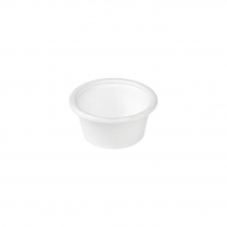 60mL/2oz Compostable Portion Cup Bagasse