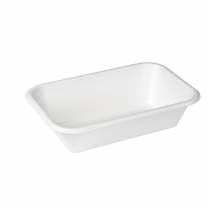 950mL/32oz X-Large Compostable Bagasse Takeaway Container