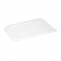 12-16oz Flat Lid for Small/Medium Bagasse Containers