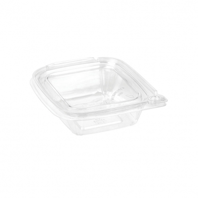 Small Tamper Evident Airtight Clear Container