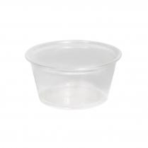 60mL/2oz Plastic Portion Cup