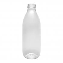 1000mL Clear PET Round Bottle