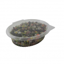 500mL Oval Air-tight PET Container