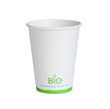 Medium Compostable Coffee Cup White