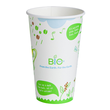 Earth Care Cafe Compostable Large Coffee Cup