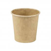 4oz/120mL Compostable Espresso Cup Brown Raw