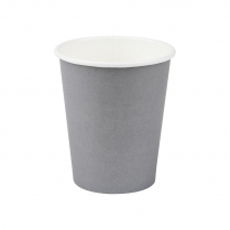 8oz/245mL Small Compostable Coffee Cup Grey