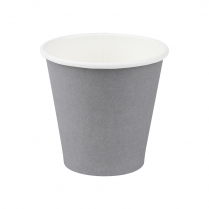 8oz/245mL Squat Compostable Coffee Cup Grey