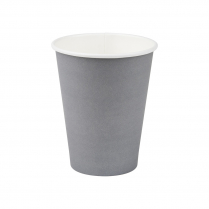 12oz/365mL Regular Compostable Coffee Cup Grey